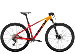 Trek Marlin 7 XS (27.5  wheel) Marigold to Radioactive Red Fade